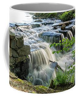 Waterfall At The Old Mill  Coffee Mug