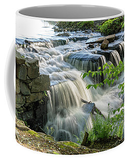 Waterfall At The Old Mill  Coffee Mug