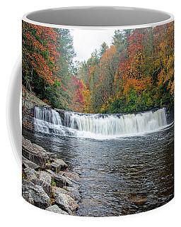 Waterfall In Autumn Coffee Mug