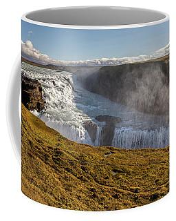 Waterfall Mist Of Iceland Coffee Mug