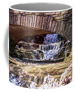 Waterfalls Through Stone Bridge Coffee Mug