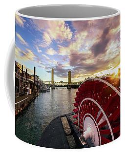 Waterfront Sunset Coffee Mug