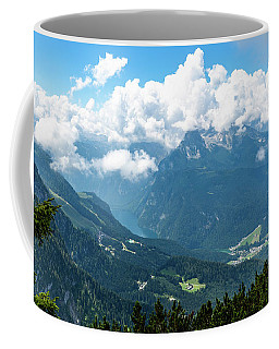 Coffee Mug featuring the photograph Watzmann And Koenigssee, Bavaria by Andreas Levi