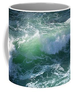Wave At Montana De Oro Coffee Mug