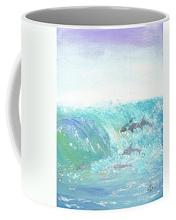 Wave Front Coffee Mug