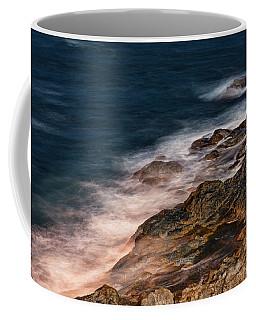 Waves And Rocks At Sozopol Town Coffee Mug