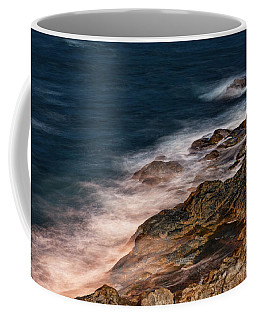 Waves And Rocks At Sozopol Town Coffee Mug
