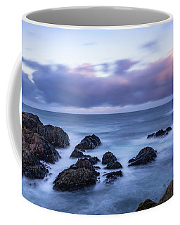 Waves At The Shore In Vesteralen Recreation Area Coffee Mug