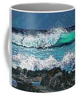 Waves On Napili Bay Coffee Mug