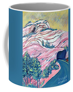 Wavy Rocks Coffee Mug