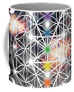 Coffee Mug featuring the digital art We Are Beings Of Light by Bee-Bee Deigner