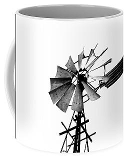 Weathered Windmill - B-w Coffee Mug