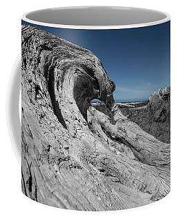 Weathered Wood On The Beach Coffee Mug