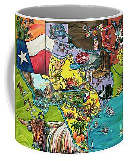 Welcome To Texas Ya'll Coffee Mug