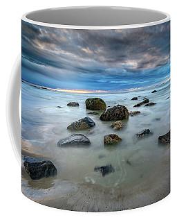 Coffee Mug featuring the photograph Wells Beach In Blue by Rick Berk