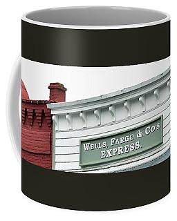 Coffee Mug featuring the photograph Wells Fargo by Jerry Sodorff