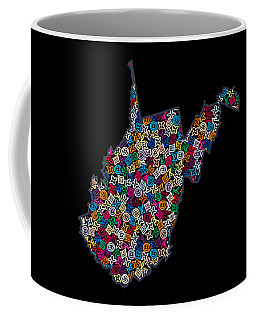 West Virginia Map - 2  Coffee Mug