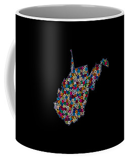 West Virginia Map - 2  Coffee Mug