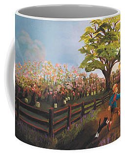 West Barn Coffee Mug