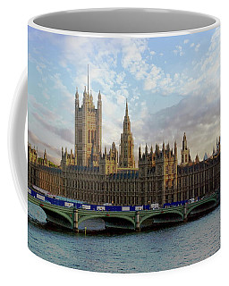 Coffee Mug featuring the photograph Westminster Palace by Anthony Dezenzio