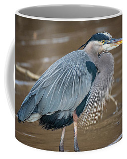 Heron What A Wonderful World Coffee Mug
