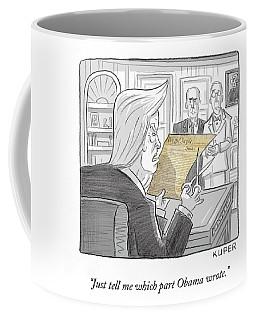 What Obama Wrote Coffee Mug