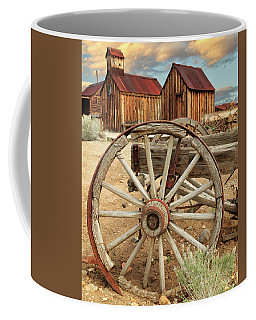 Wheels And Spokes In Color Coffee Mug
