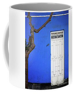 Coffee Mug featuring the photograph When A Tree Comes Knocking by Rick Locke