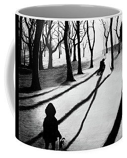When She Returned... She Saw An Angel - Artwork Coffee Mug