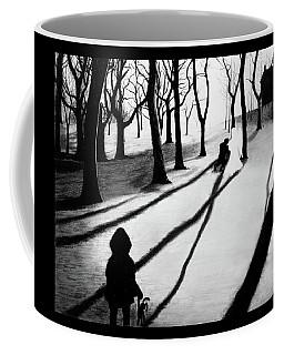 When She Returned... She Saw An Angel - Artwork Coffee Mug