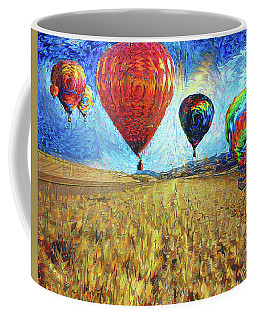 When The Sky Blooms Coffee Mug