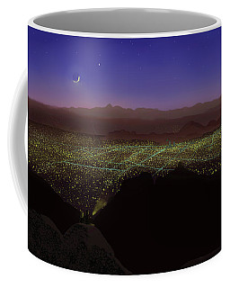 When Tucson's Lights Flicker On Coffee Mug