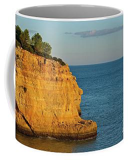 Where Land Ends In Carvoeiro Coffee Mug