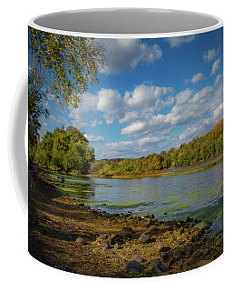 Coffee Mug featuring the photograph Where Washington Crossed by Lora J Wilson