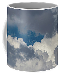 White And Gray Clouds Coffee Mug