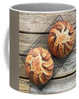 White And Rye Sourdough Swirls Coffee Mug