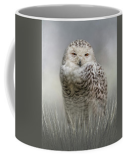 White Beauty In The Field Coffee Mug