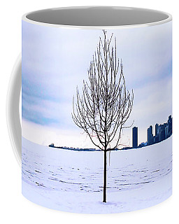 Coffee Mug featuring the photograph White Dream by Milena Ilieva