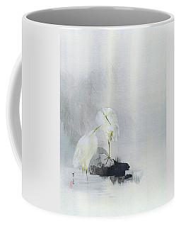 White Egret - Digital Remastered Edition Coffee Mug