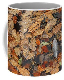 White Feather Coffee Mug