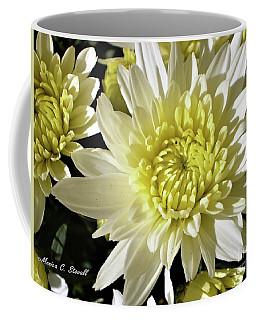 White Flowers W8 Coffee Mug