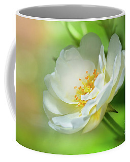 White Iceberg Rose Coffee Mug