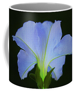 White Petunia Coffee Mug