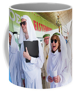 White Robed Bards At The Welsh National Eisteddfod Coffee Mug