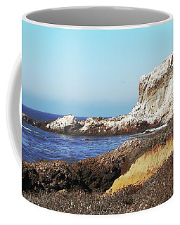 The White Rocks Of Piedras Blancas Coffee Mug