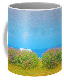 White Roof - Bright Flowers - Bermuda Coffee Mug