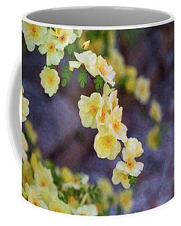 White Rose - Loving Gently- By Omaste Witkowski Coffee Mug