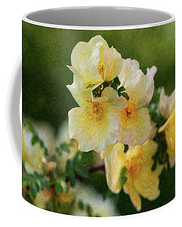 Yellow Rose - Patiently Waiting- By Omaste Witkowski Coffee Mug