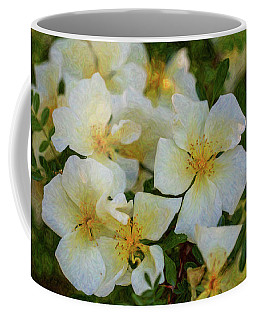White Rose - Wedding Party- By Omaste Witkowski Coffee Mug