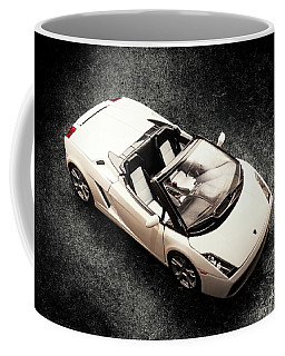 White Spyder Coffee Mug